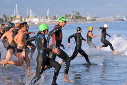 The 1k ocean swim is an important piece of the Nite Moves formula.